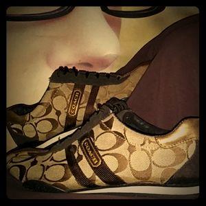 Coach KATE sneakers sz 7.5